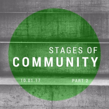 Stages of Community – Part 2