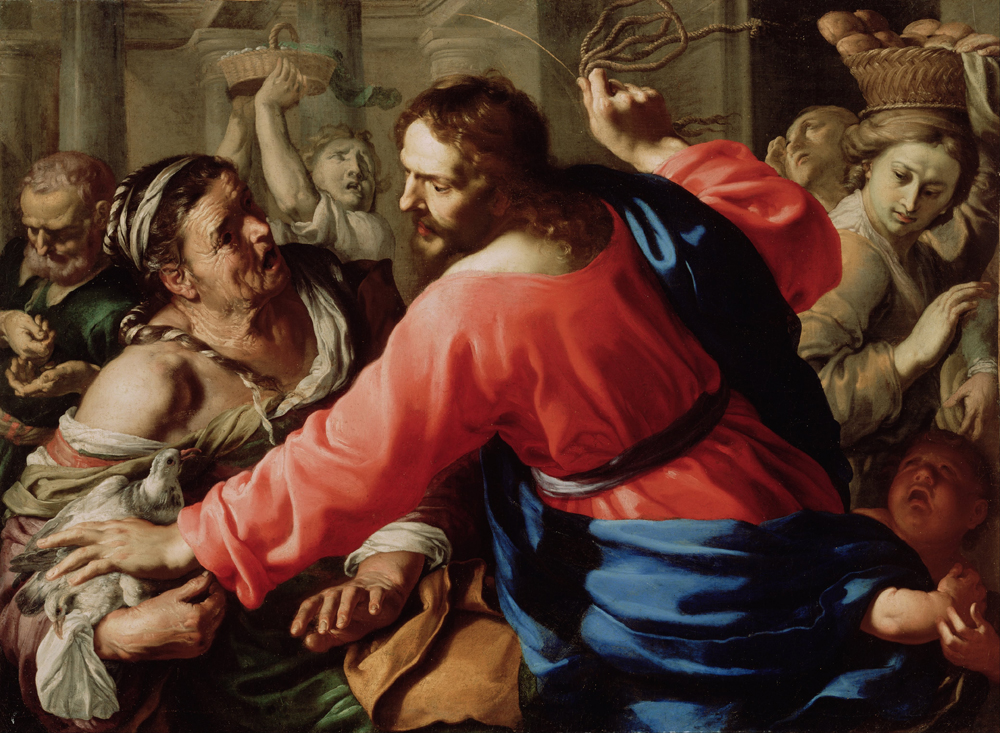 Jesus Loses it and the Power of Coupling